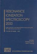 Resonance Ionization Spectroscopy