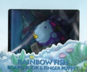 Rainbow Fish Board Book and Finger Puppet Set [With 1 Rainbow Fish]