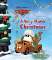 A Very Mater Christmas (Cars (Board Books)) [Board book]