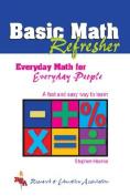 Basic Math Refresher (Rea)