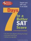 7 Days to a Better SAT Score