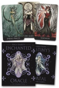Enchanted Oracle [With Tarot Deck and Fairy Pendant and Silver Bag]