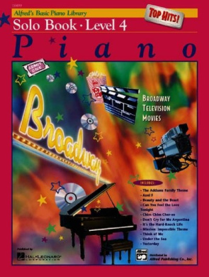 Alfred's Basic Piano Library Top Hits! Solo Book, Bk 4 (Alfred's Basic Piano Library)