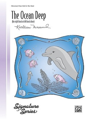 The Ocean Deep (for Right Hand or Left Hand Alone): Sheet