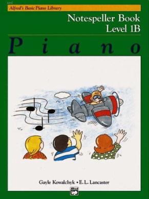 Alfred's Basic Piano Library Notespeller, Bk 1b (Alfred's Basic Piano Library)