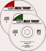 Essentials of Music Theory 1 & 2  : Ear Training-Books 1,2,3  [Audio]