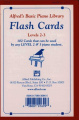 Alfred's Basic Piano Library Flash Cards, Bk 2 & 3  : Flash Cards