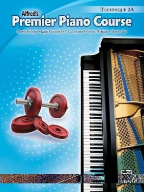Alfred's Premier Piano Course, Technique 2A