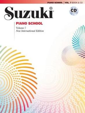Suzuki Piano School, Vol 7: Book & CD (Suzuki Method Core Materials)