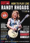 Guitar World How To Play Like Randy Rhoa [Audio] [Region 2]
