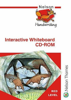 Nelson Handwriting Interactive Whiteboard CD ROM Red Level