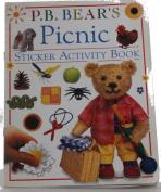 P.B. Bear's Sticker Book