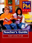 PM Plus Ruby Level 27-28 Teacher's Guide