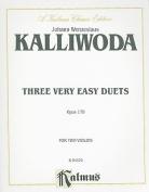 Three Very Easy Duets, Opus 179