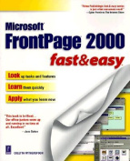 FrontPage 2000 Fast and Easy