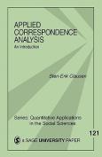 Applied Correspondence Analysis