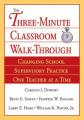 The Three Minute Classroom Walk-Through