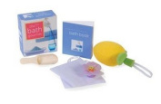 The Mini Bath Gourmet [With Book of Recipes and Wooden Scoop, Floating Candle, Bath Sponge, Strain]