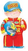 Race Car Driver (Mini People Shape Books) [Board book]