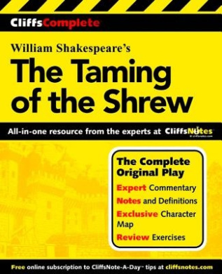 The Taming of the Shrew (Cliffs Complete S.)