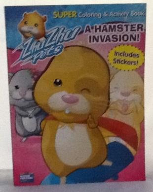 Zhu Zhu Pets Jumbo Coloring & Activity Bk: Hamster Invasion