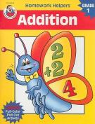 Addition, Homework Helpers, Grade 1 (Brighter Child