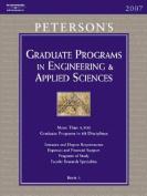Peterson's Graduate Programs in Engineering & Applied Sciences  : Book 5 (Peterson's Graduate Programs in Engineering & Applied Sciences