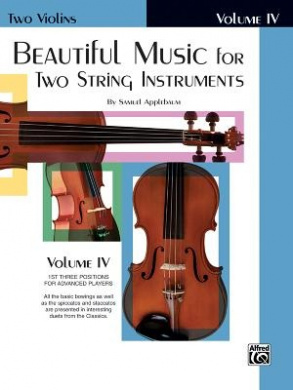Beautiful Music for Two String Instruments, Bk 4: 2 Violins
