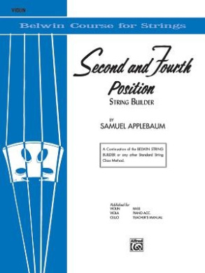 2nd and 4th Position String Builder: Violin (Belwin Course for Strings)
