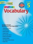 Vocabulary, Grade 5 (Spectrum)