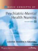 Basic Concepts of Psychiatric-Mental Health Nursing [With CDROM]