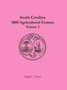 South Carolina 1860 Agricultural Census