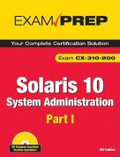 Solaris 10 System Administration Exam Prep