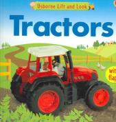 Usborne Lift and Look Tractors [Board Book]
