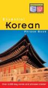 Essential Korean Phrase Book