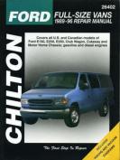 Ford Full-size Vans 1989-96