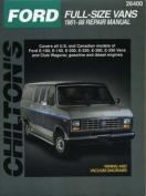 Ford Full-size Vans 1961-88 Repair Manual