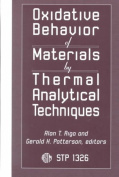 Oxidative Behaviour of Materials by Thermal Analytical Behaviour