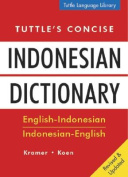 Tuttle's Concise Indonesian Dictionary