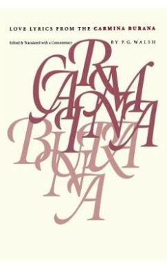 """Love Lyrics from the """"Carmina Burana"""""""