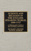 Science and Religion in the English-speaking World, 1600-1727