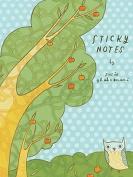 Orchard Owls Sticky Notes