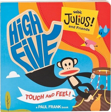 High Five with Julius [Board book]