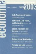 Economia: Spring 2003