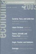 Economia Fall 2003