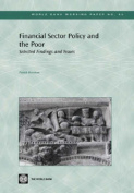 Financial Sector Policy and the Poor