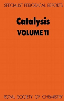 Catalysis: A Review of Chemical Literature (Specialist Periodical Reports)