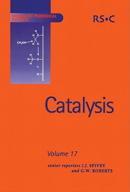 Catalysis (Specialist Periodical Reports)
