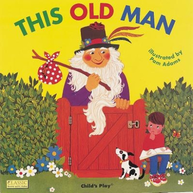 This Old Man (Classic Books with Holes Cover) [Board book]
