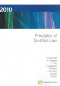 Principles of Taxation Law 2010
